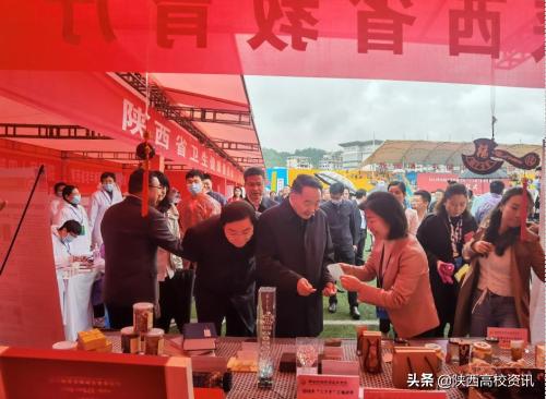 """陕财职院受邀参加2021年全国文化科技卫生""""三下乡""""集中示范活动"""