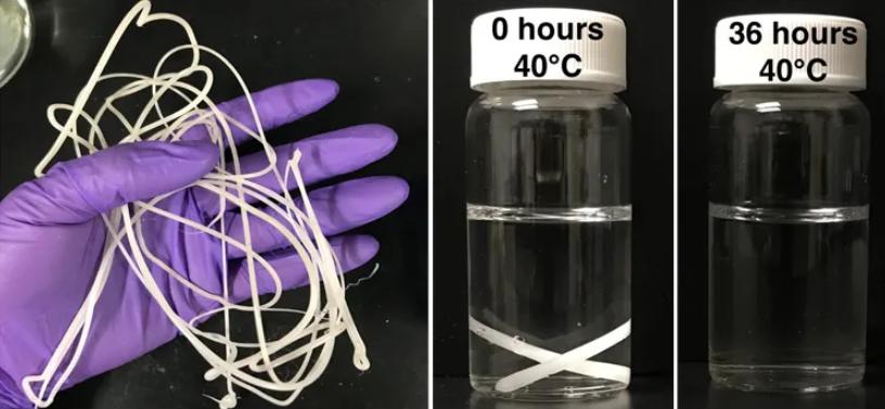 受酸奶启发中国学者攻克塑料降解难题!40℃水温两天内可完全降解