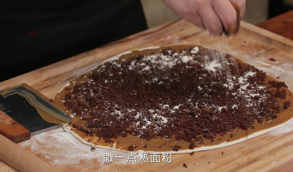 老北京芝麻酱糖饼,酥脆香甜我有妙招,配方精准到克快试试吧! 亨饪技巧 第5张