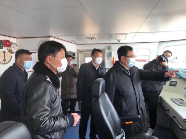 副市长、县委书记顾云岭调研指导全县渔业安全生产、长江禁渔工作