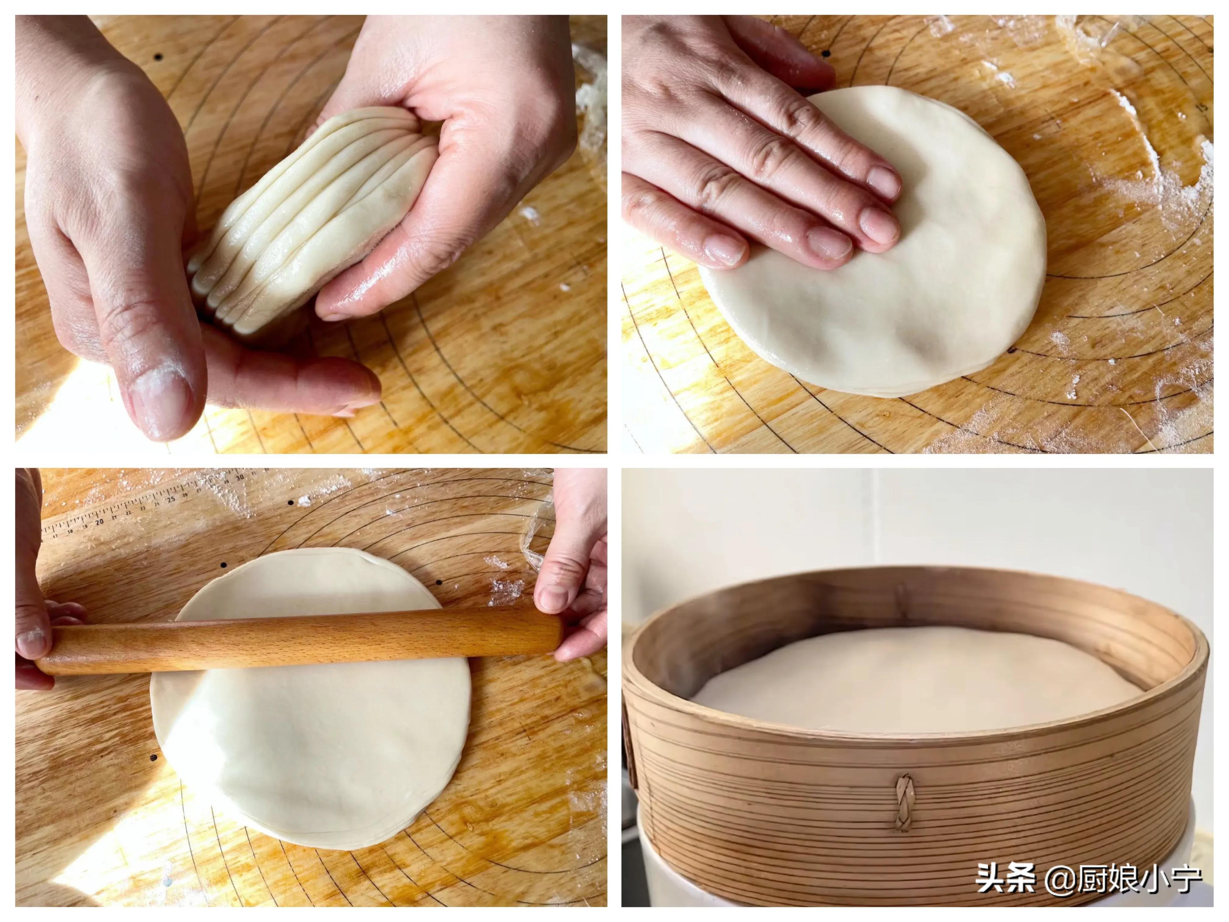 立春吃春饼,这方法才靠谱,轻薄柔软、方法简单,一次出锅25张