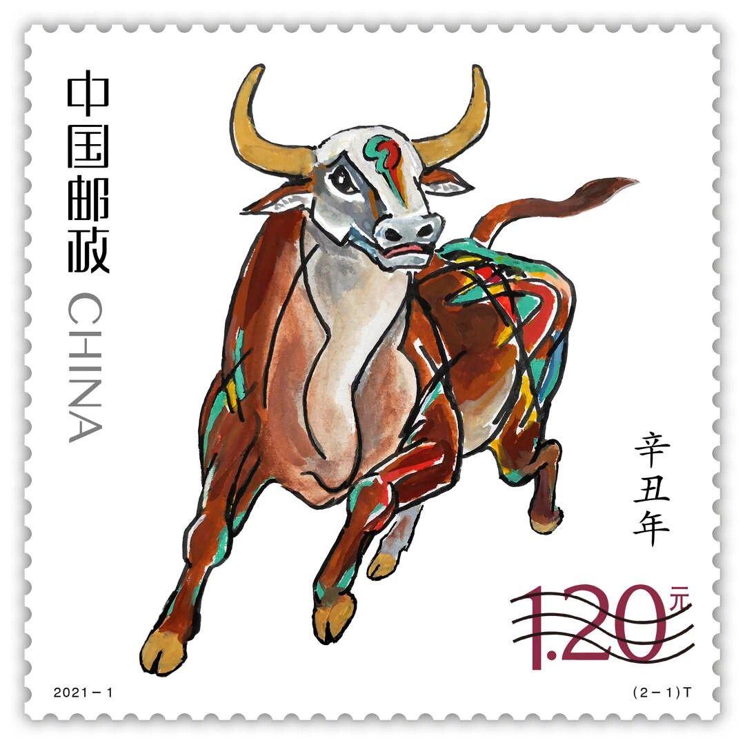 官宣!2021年牛年邮票揭晓!9月10日开启新邮线上预订→