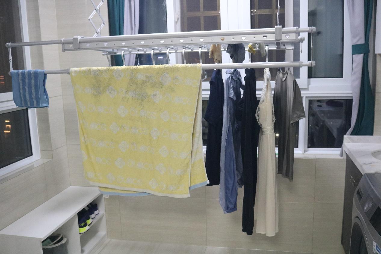 杀菌烘干智能升降,晾晒衣服也能如此快乐,欧瑞博智能衣架体验