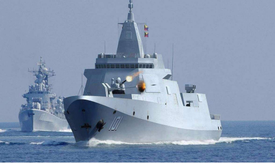 第八艘055下水!美媒称其全球最强,解放军将打破美国海上霸权