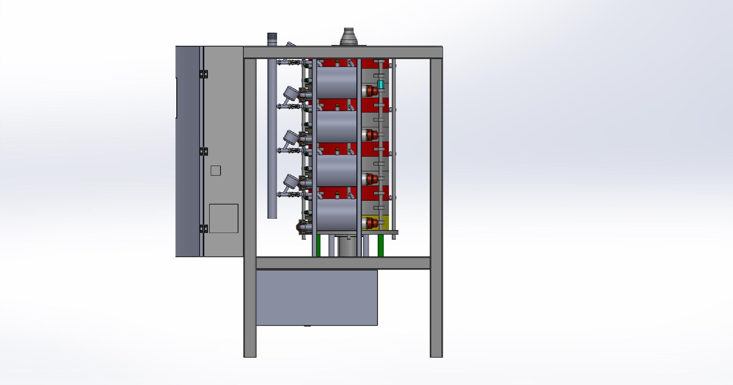 巧克力调温机3D模型图纸 IGS格式