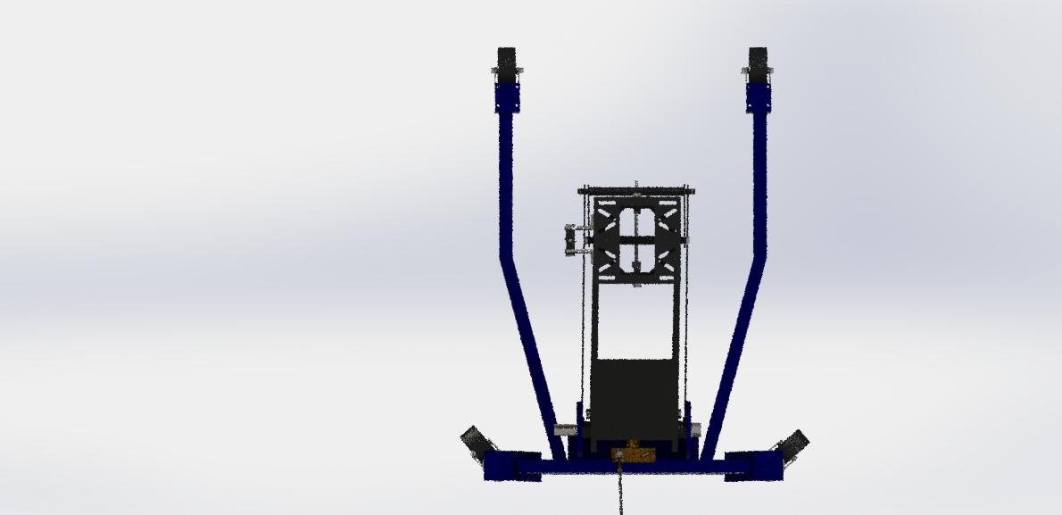Jack hydraulic移动式液压千斤顶3D数模图纸 STEP格式