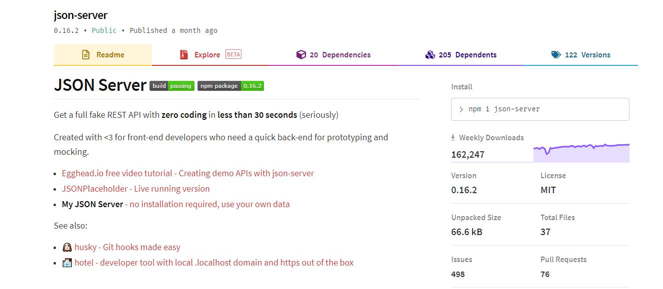 只要一个json文件3分钟搭建一个json服务器