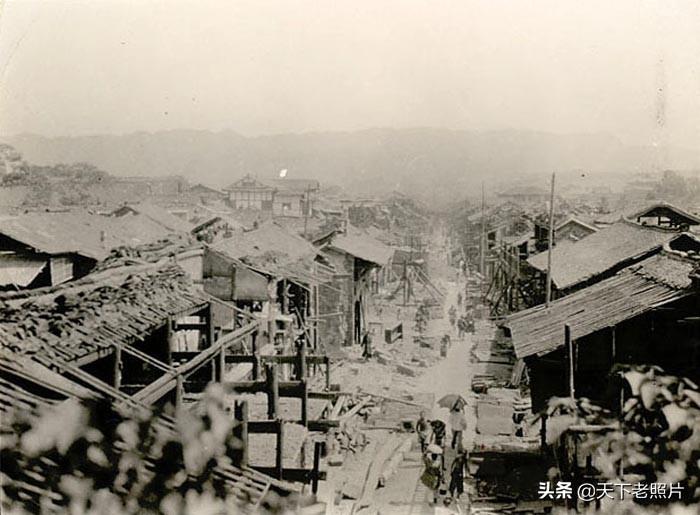 1920年代四川宜宾老照片 90年前宜宾城乡风光及人物风貌