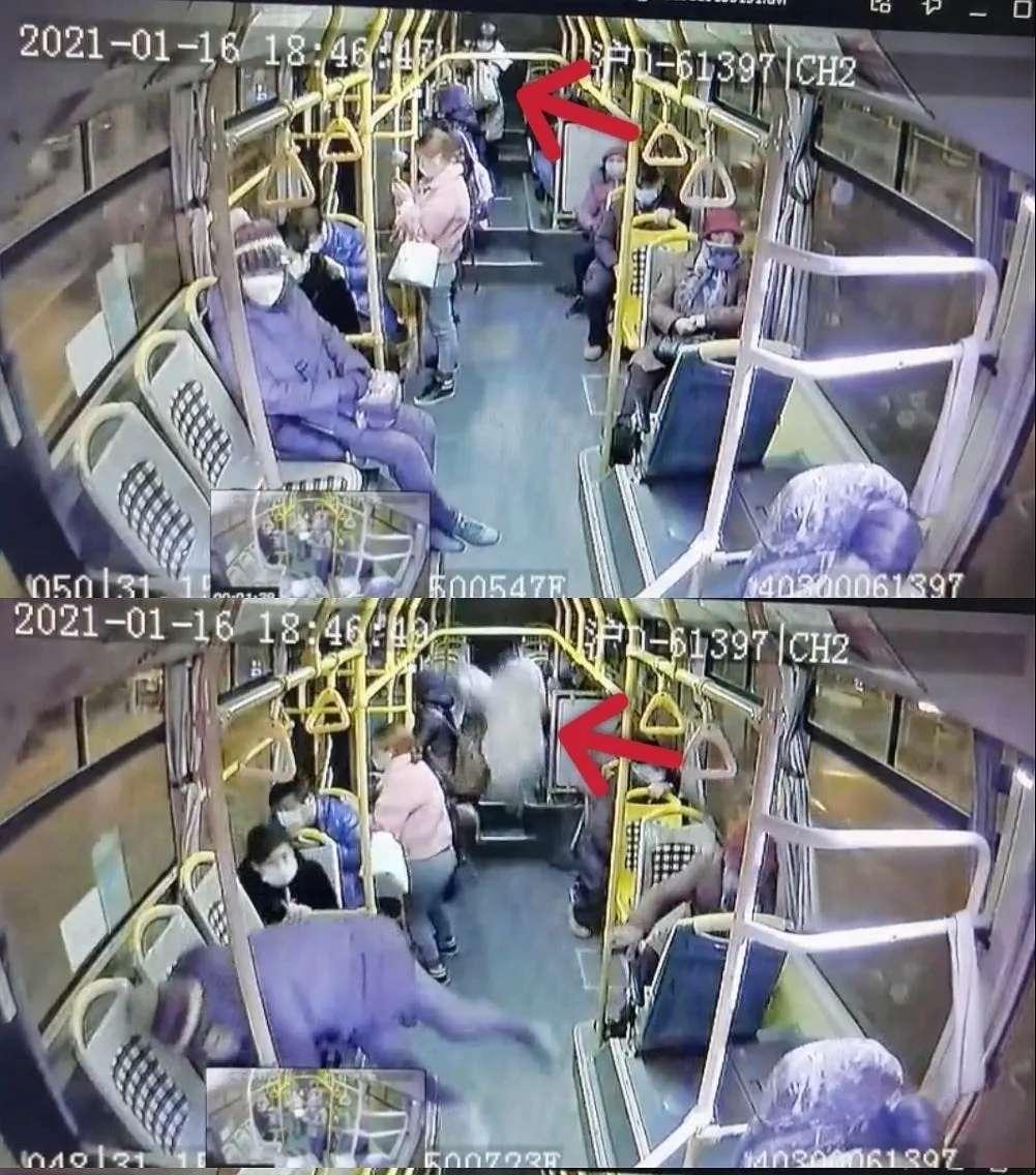 上海公交车急刹致一女子摔倒身亡 官方回应