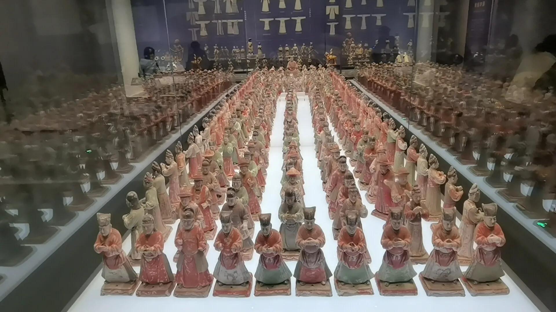 西安必去的景点——陕西历史博物馆(5)第三展厅导览