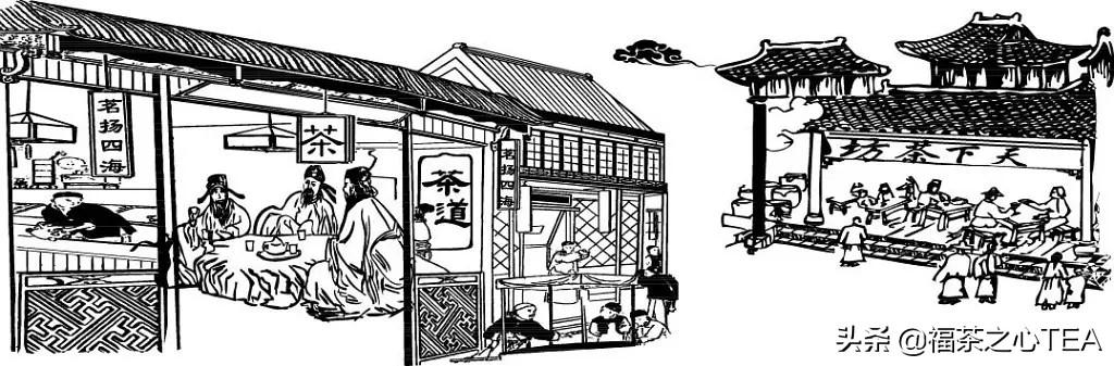 从古至今,中国茶馆都有哪些广告宣传手段?