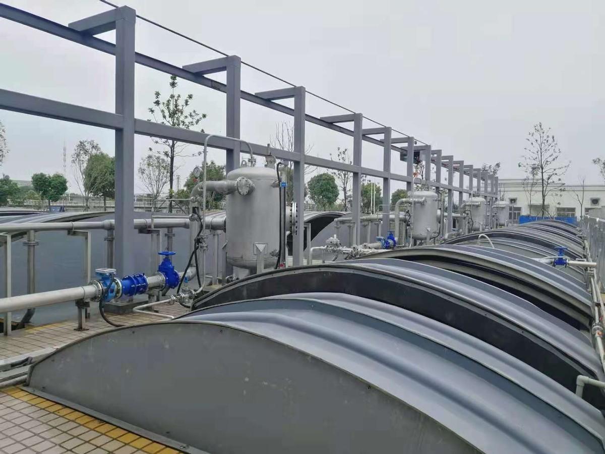 你能猜出哪杯水是处理后的污水吗?武汉城市污水深度处理工艺揭秘