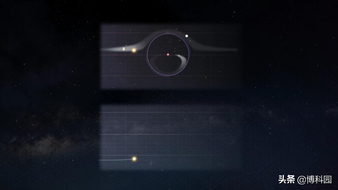 在7500万光年外,首次发现一颗恒星,直接坍塌成黑洞消失了