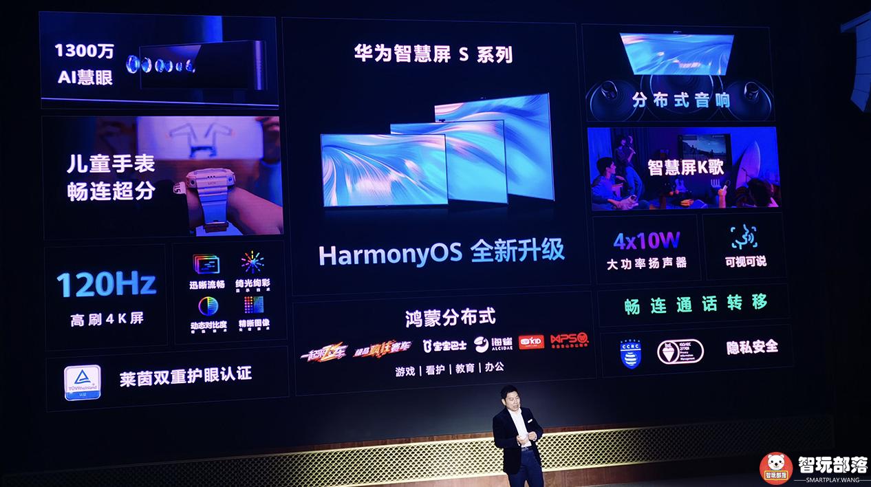华为发布智慧屏S系列:余承东宣称十年不过时!起售价3299元