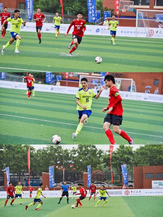 陕西省青少年校园足球联赛在航天基地开幕