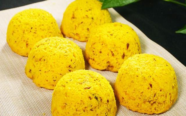 大枣南瓜蒸糕冬做法 松软美味 比蛋糕还好吃