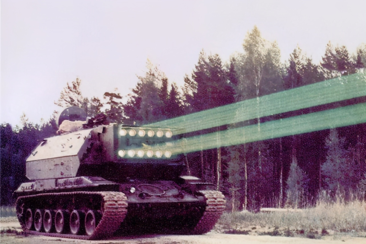 红警中的光棱坦克真被造出来了!揭秘苏联绝密激光坦克,射程太牛