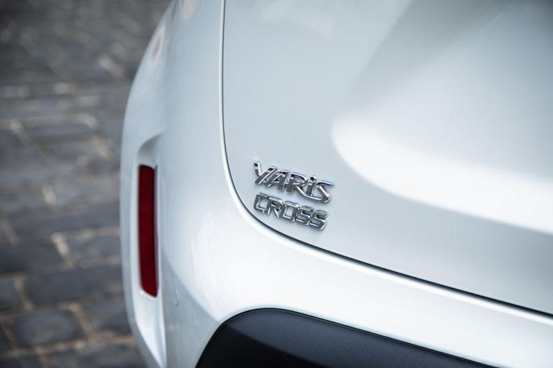 丰田曝光全新Cross车型!截胡卡罗拉SUV 采用全新设计风