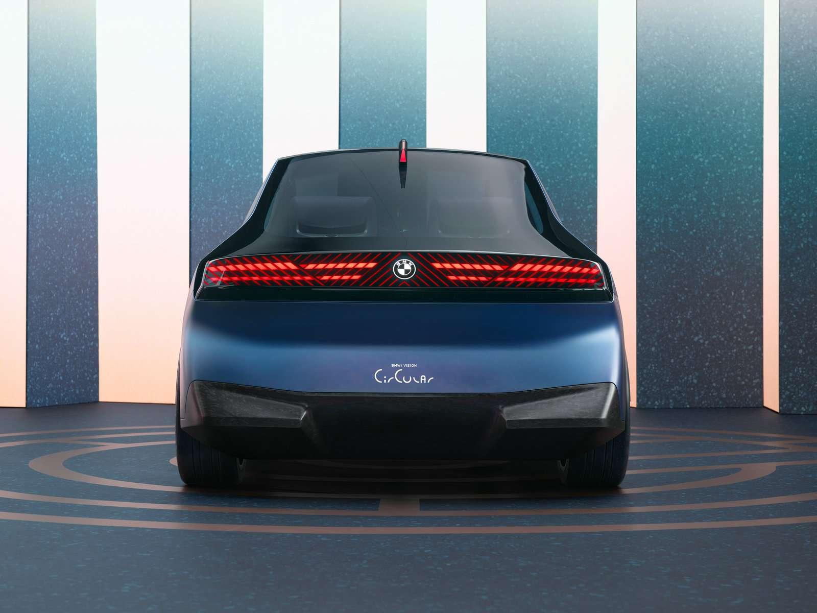 宝马集团BMW i 循环概念车亮相  聚焦未来可持续
