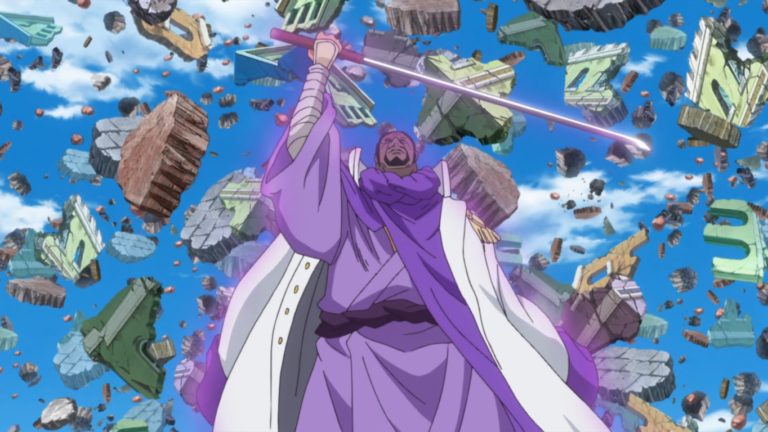 """海賊王中擁有""""運國""""能力的10大角色,有的靠蠻力,有的靠果實"""