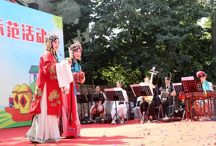 村里唱大戏了,要演两个月……西安举办戏曲进乡村示范活动