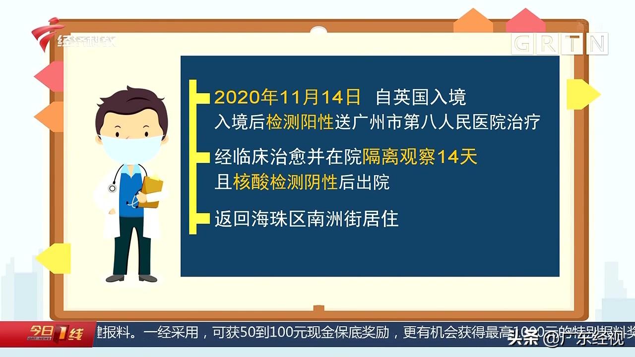 广州海珠区一境外输入确诊病例出院后复阳 启动应急处置工作