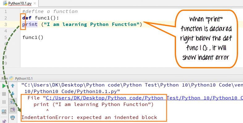 DAY4-step2 Python函数:调用,缩进,参数和返回值