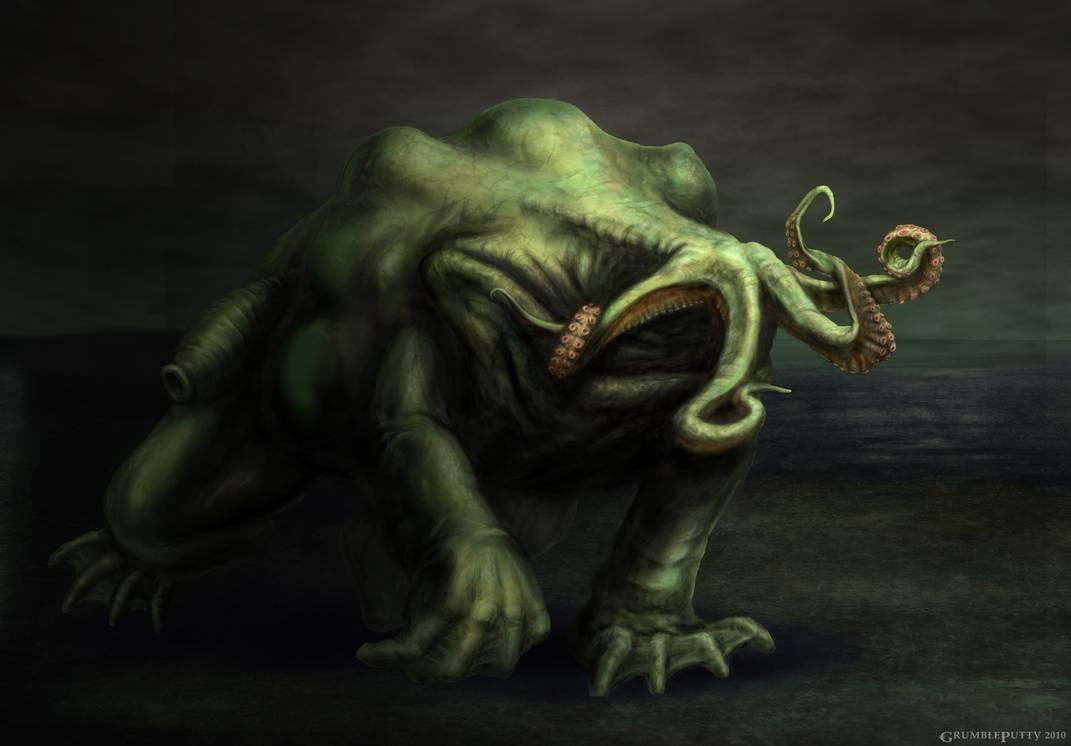 克苏鲁神话生物——月兽