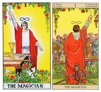 塔罗牌魔法师的故事,塔罗魔法师讲解