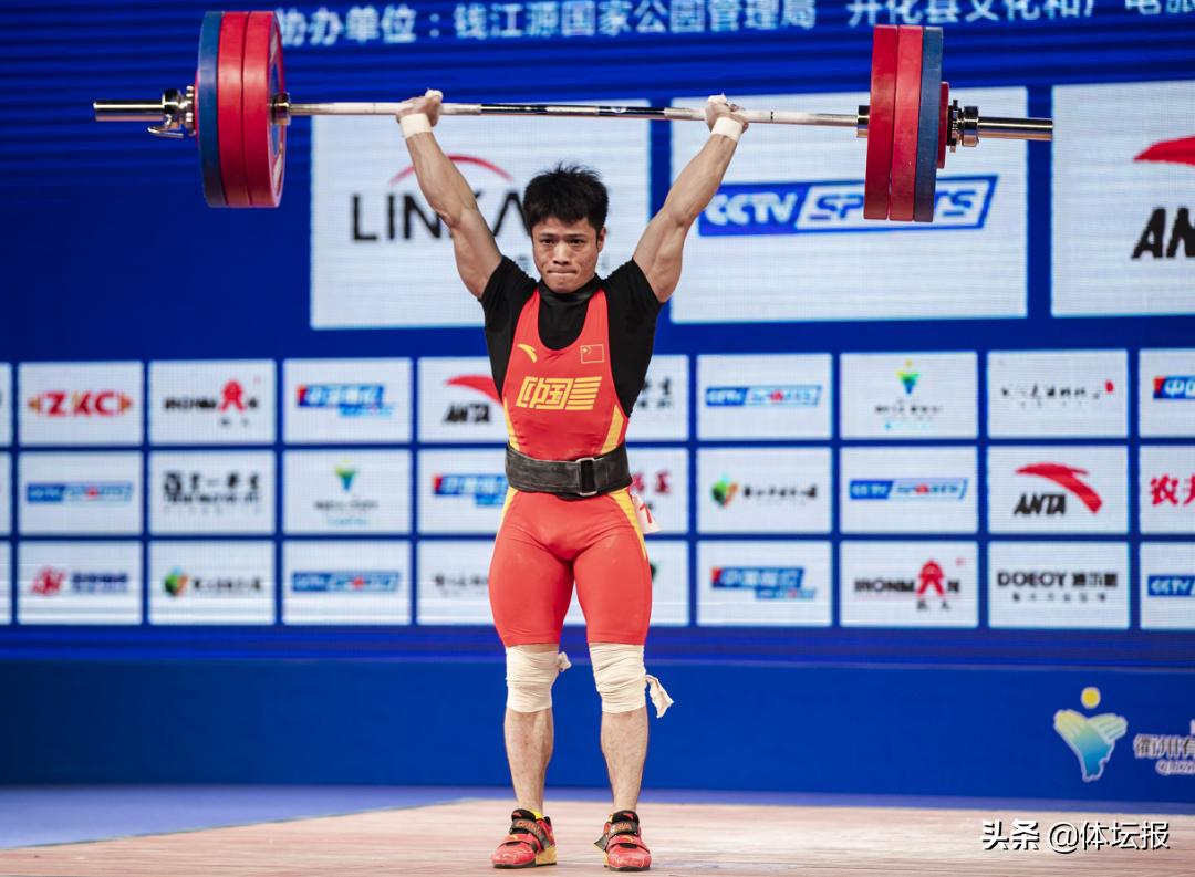 2020年全国男子举重锦标赛暨东京奥运会模拟赛开战,石智勇今日出场