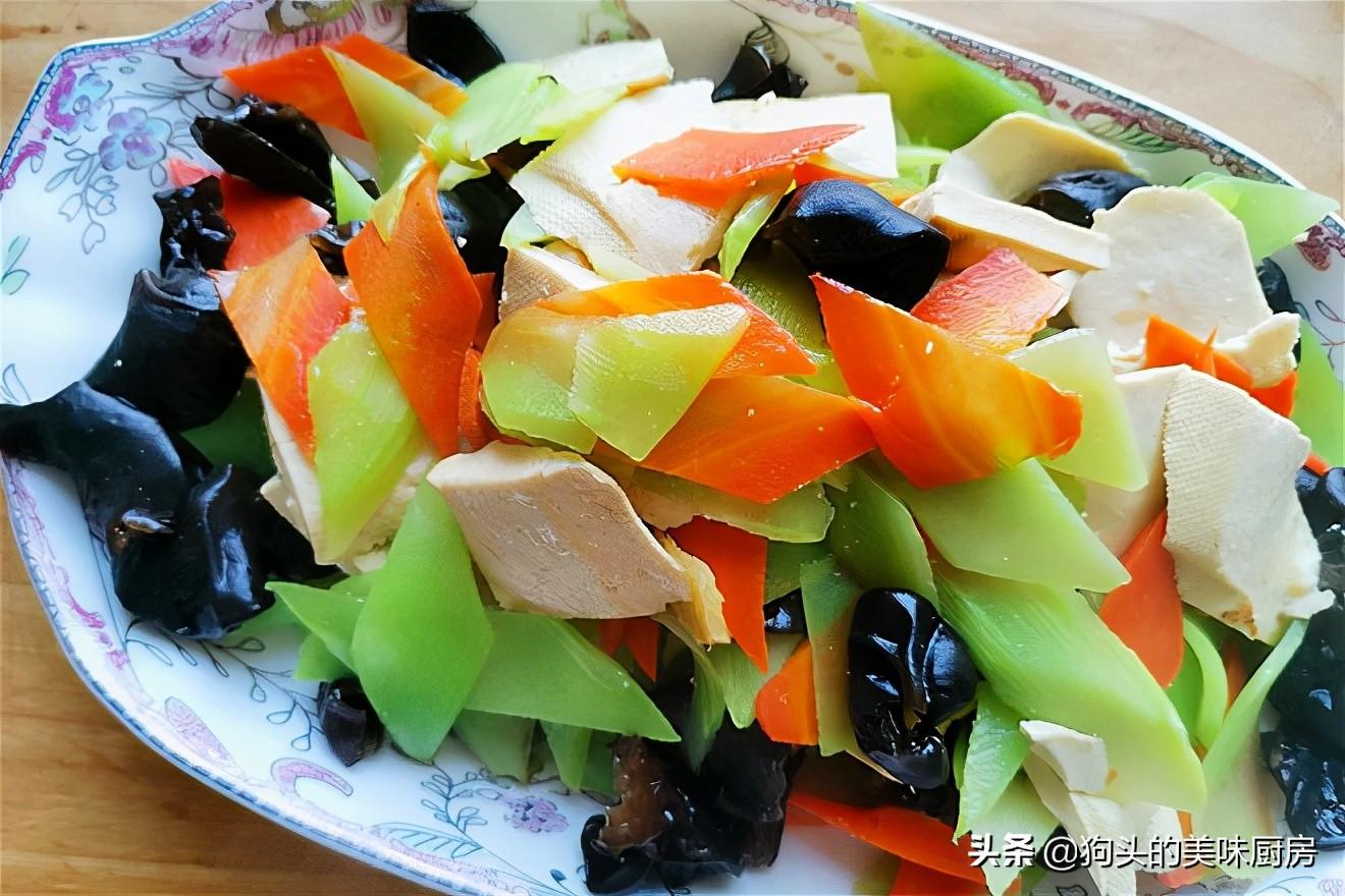 天热不知道吃什么?分享6道清爽素菜做法,香而不腻,每天炒一个 美食做法 第5张