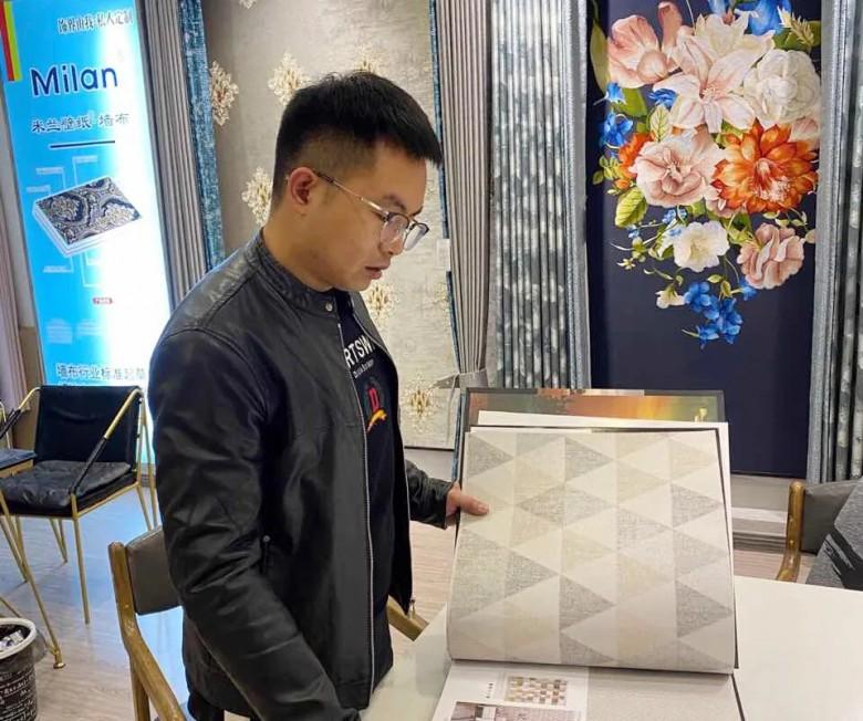 米兰壁纸墙布窗帘五星门店专访系列:把客户服务做到极致 就是制