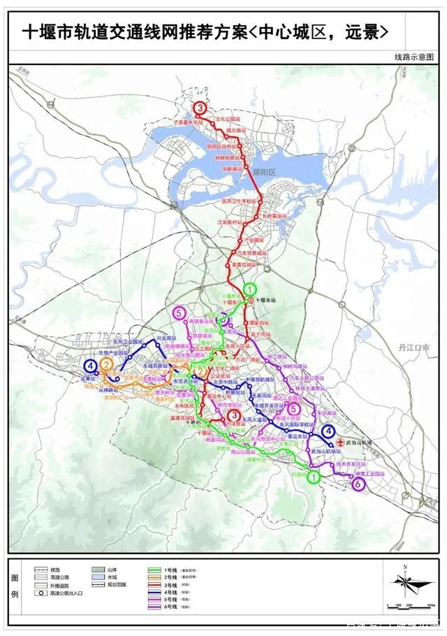 多条一级路、四条高速、五条高铁…未来的郧阳交通迎来大爆发