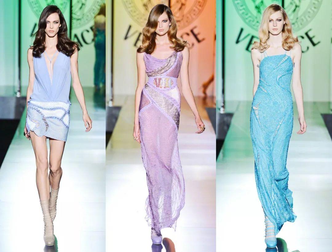 意大利奢侈品牌VERSACE 发布新设计,加入时尚圈印花混战