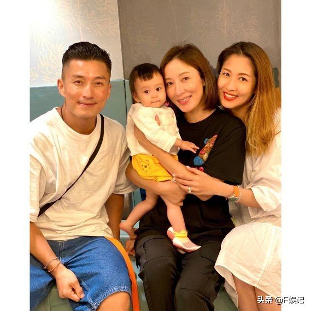 陳敏之楊怡陳山聰帶子女相聚星二代們露面被讚可愛