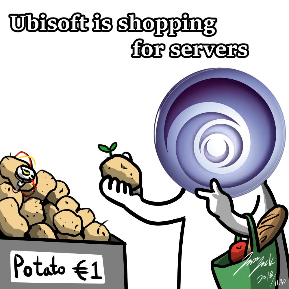 买BUG送游戏,用土豆做服务器,这样的游戏公司你喜欢吗?
