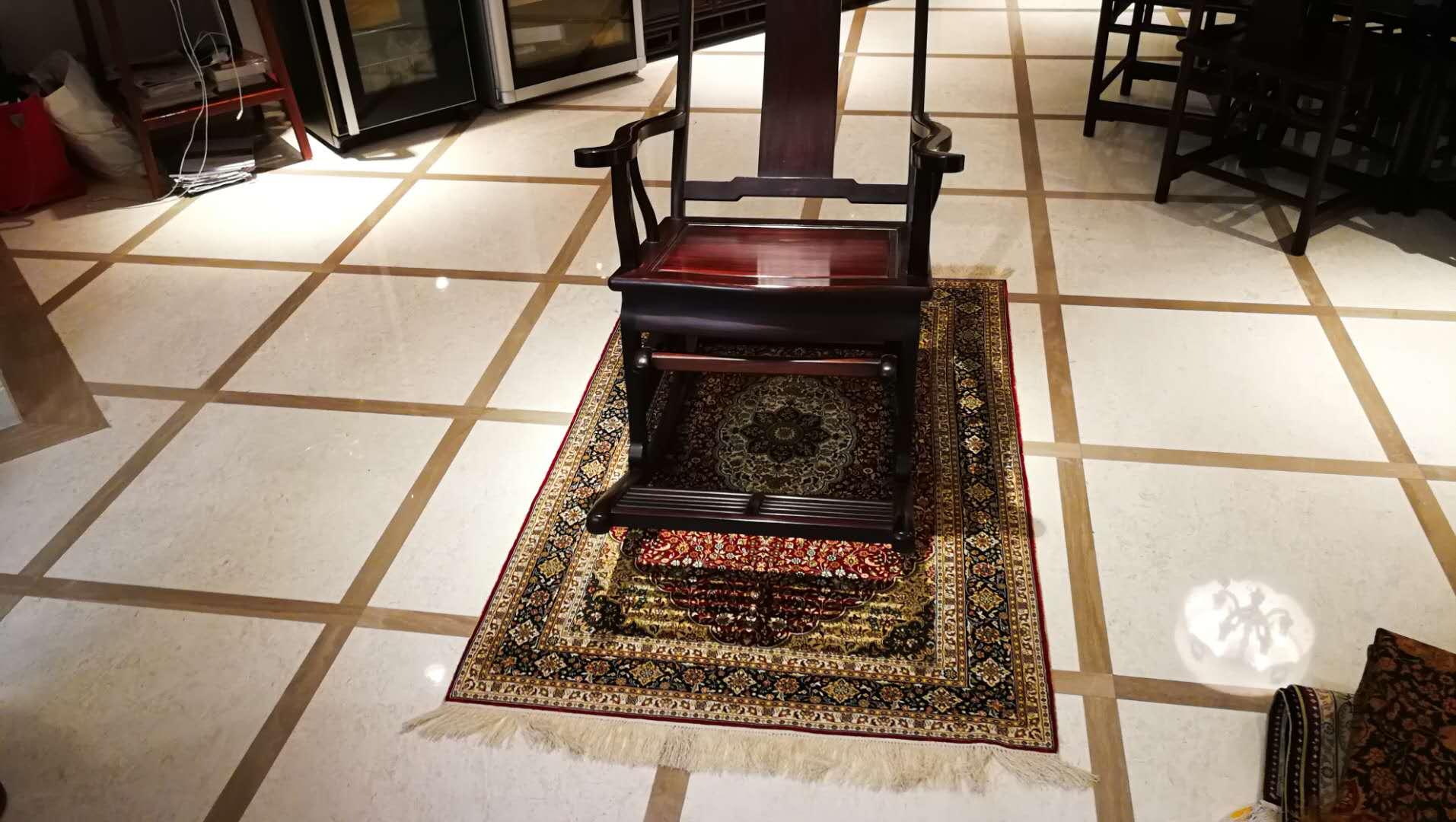 高端家居地毯品牌服务商-亿丝手工真丝地毯