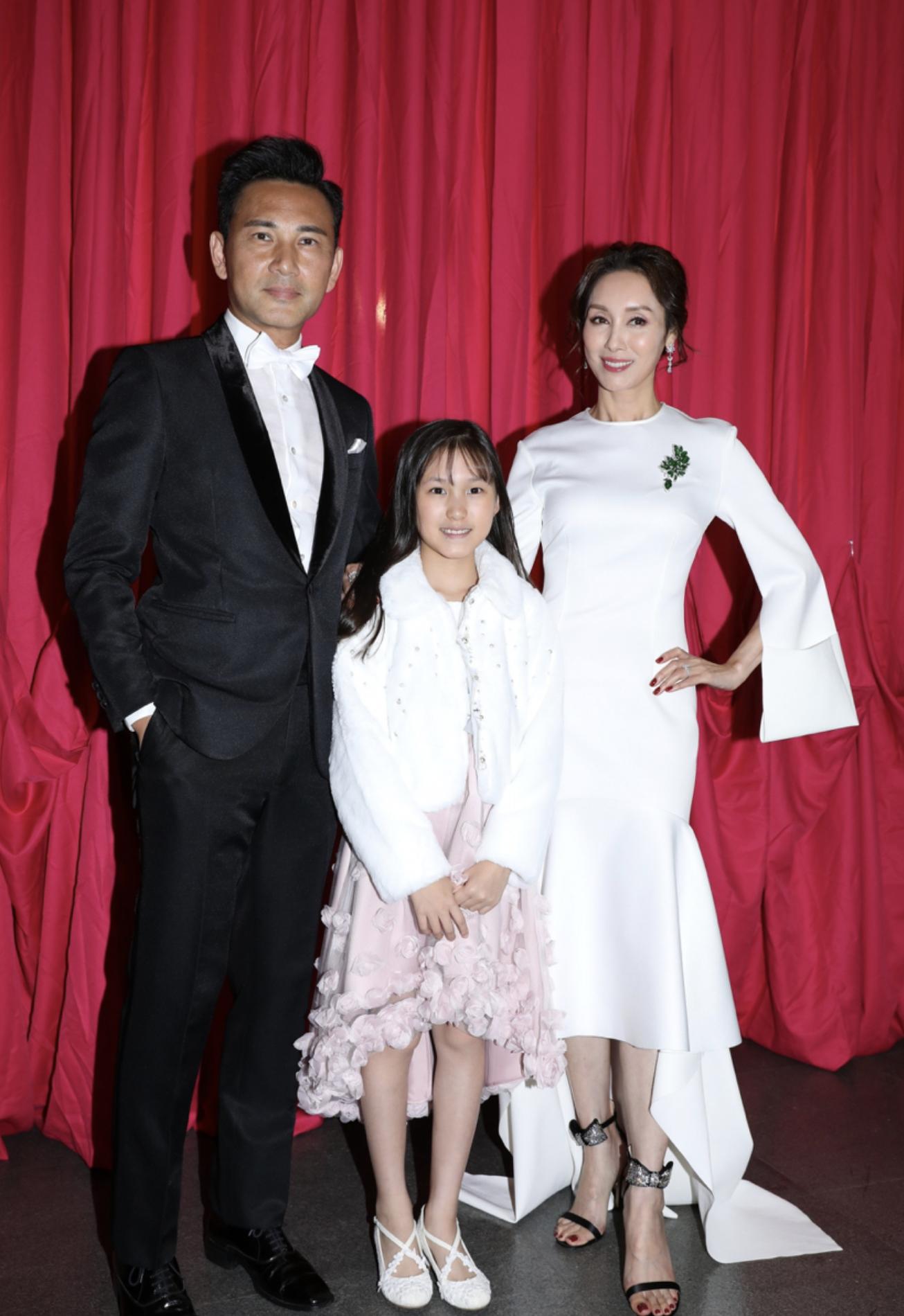 林文龍公開反對女兒入行,11歲林天若性格內向,尚不知母親是港姐