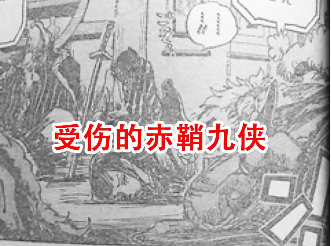 海賊王1004話:凱多讓黑瑪利亞活抓羅賓,神秘人解救赤鞘九俠