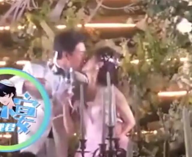 """王彦霖婚礼誓言超感人:新娘就是新的娘,艾佳妮动情现""""望夫眼"""""""