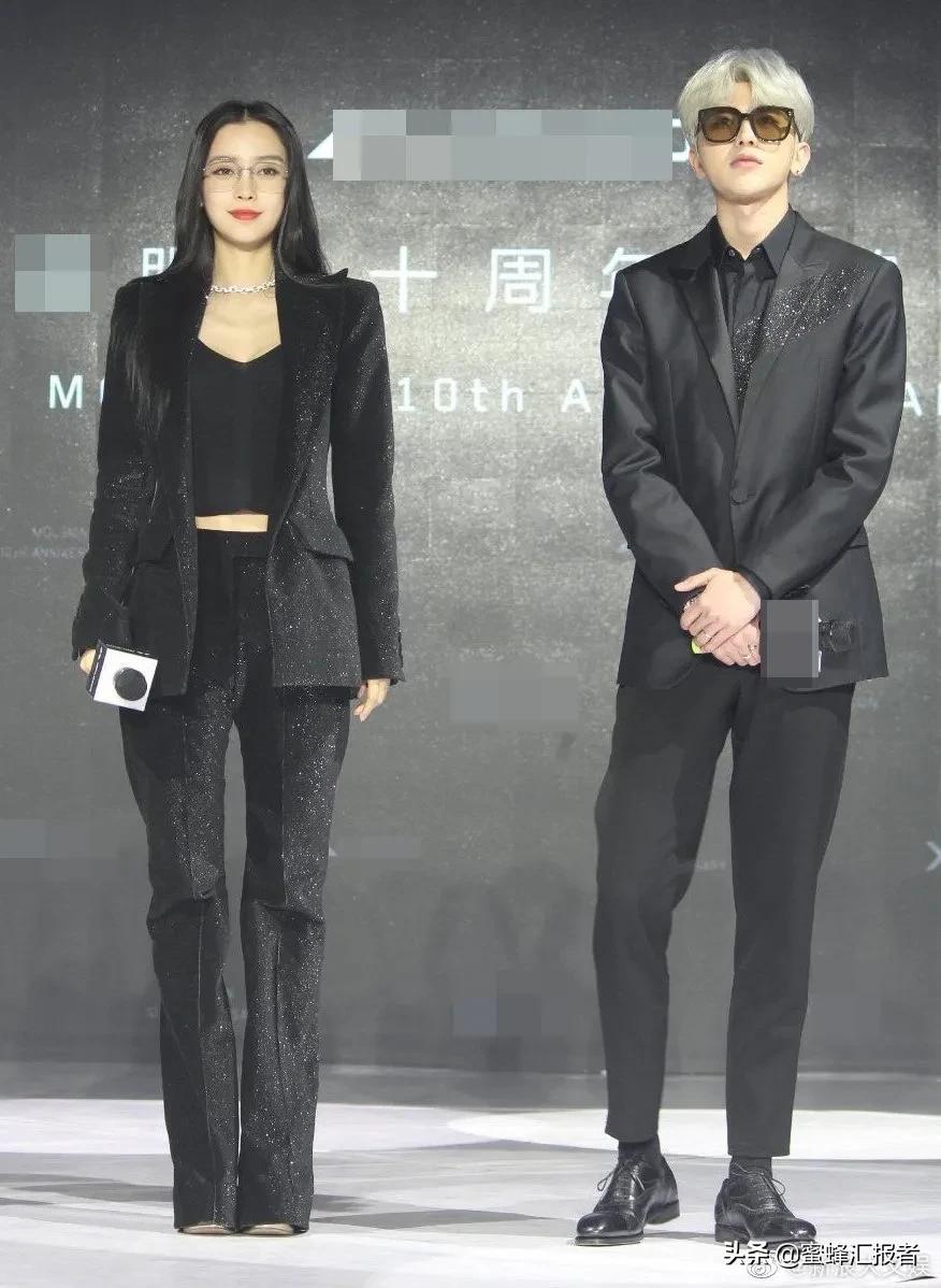Angelababy与蔡徐坤同框,范丞丞妈妈就是我妈妈本人