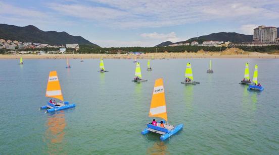 2020首届舟山群岛家庭帆船赛开幕