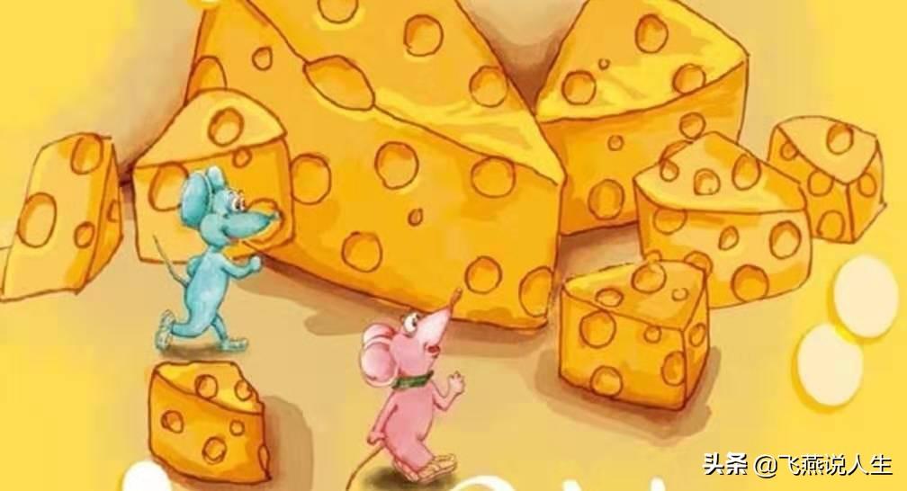 谁动了我的奶酪绘本故事,告诉你一个什么道理