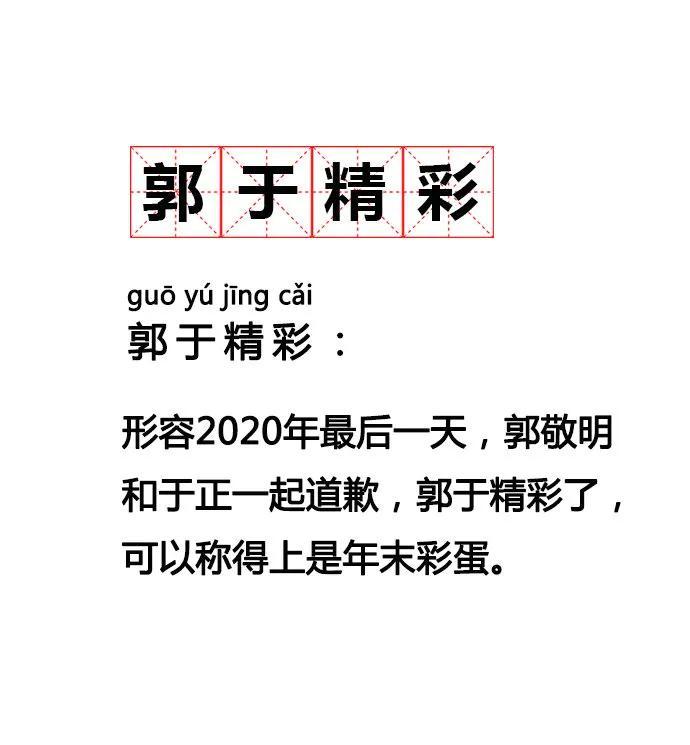 2020 10大网络流行语排行榜与词义,豪横这梗怎么没有?