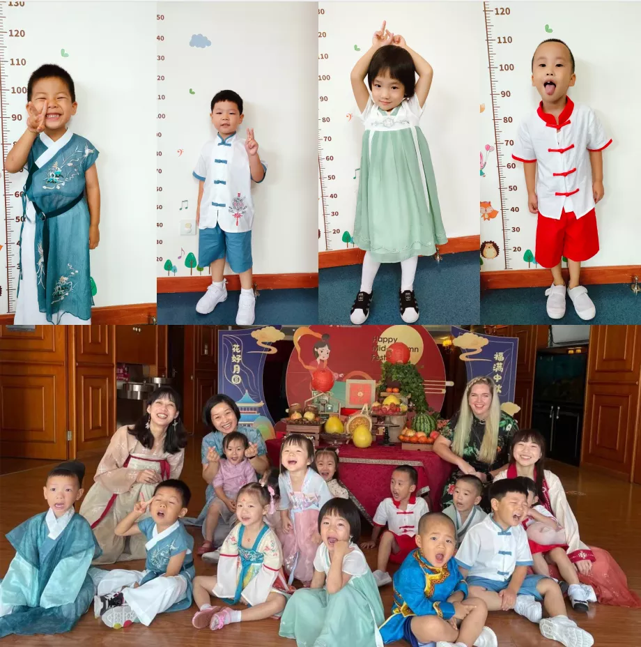 童心童韵,月满中秋童欢乐——PICLC中秋节主题活动