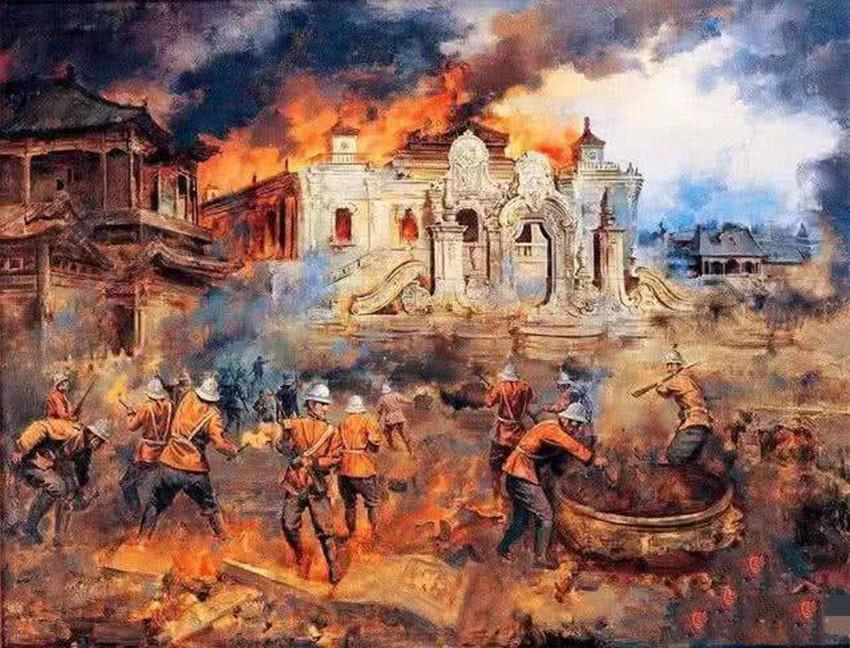 八国联军发动侵华战争时间:庚子年八国联军入侵中国,源头是甚么,导前方又是甚么