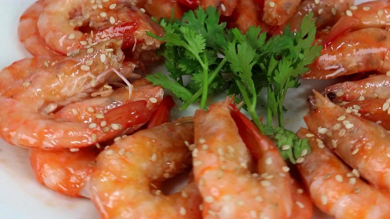 大虾最好吃做法,不用炸不用煮,挑食孩子也爱吃,不缺钙猛长个