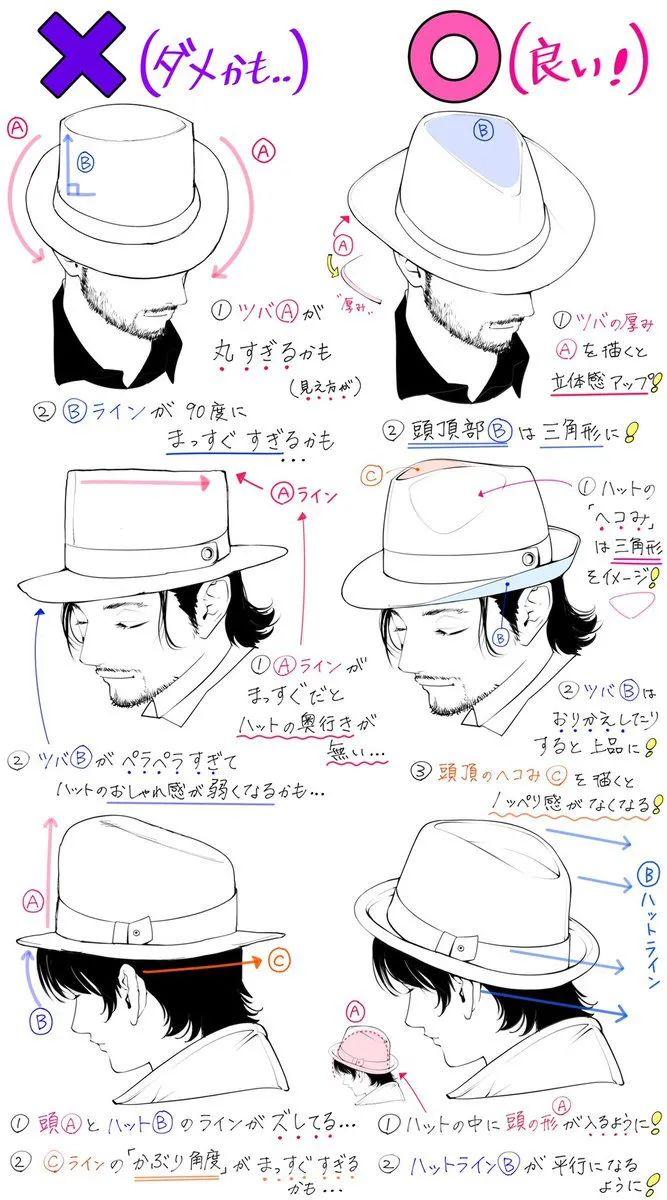 「绘画教程」一些漫画服饰常见的错误画法以及正确画法