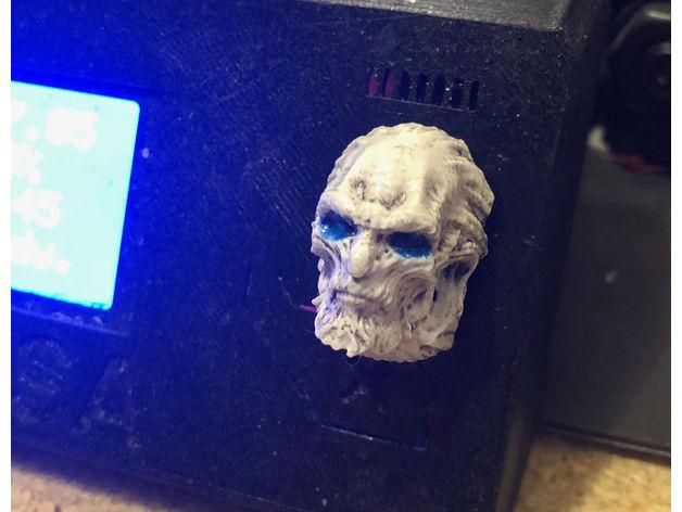 权利的游戏White Walker异鬼模型3D打印图纸 STL格式