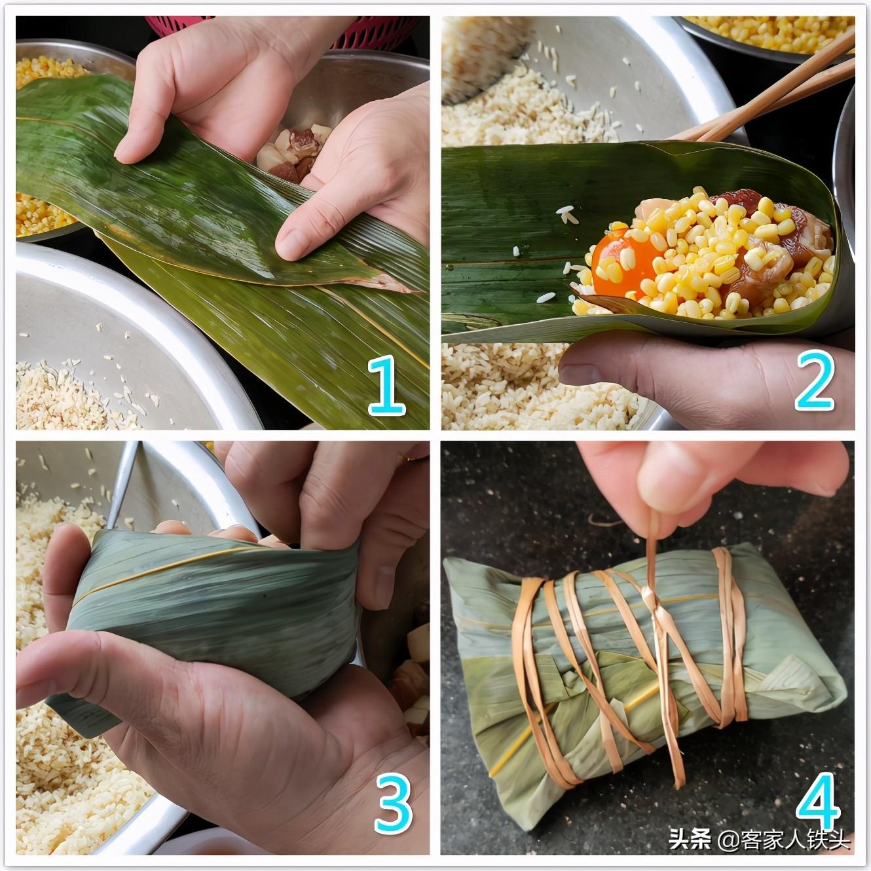 端午节粽子,客家人最爱这一个老传统味,一次煮2锅,连吃5个不腻